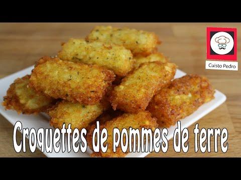 Croquettes de pommes de terre thermomix tm5 croquette party