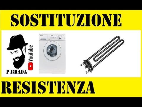 Sostituzione resistenza lavatrice youtube for Bosch lavasciuga