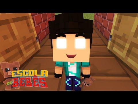 Minecraft : ESCOLA DE BEBÊS ( Baby School Daycare) - ALUNO NOVO!!