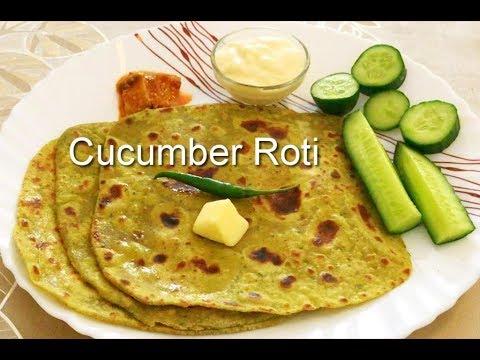 Cucumber Roti | Healthy Breakfast Recipes