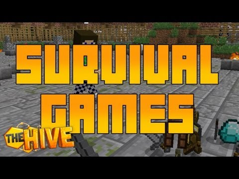 SURVIVAL GAMES - My First Game on The HIVE Server  - #16