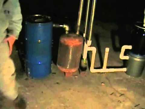 12-25-2012 Wood Gasifier follow up video 3