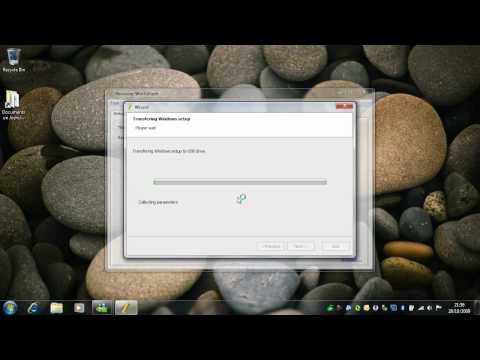 Creating A Bootable USB Pen Drive - Windows 7 RTM