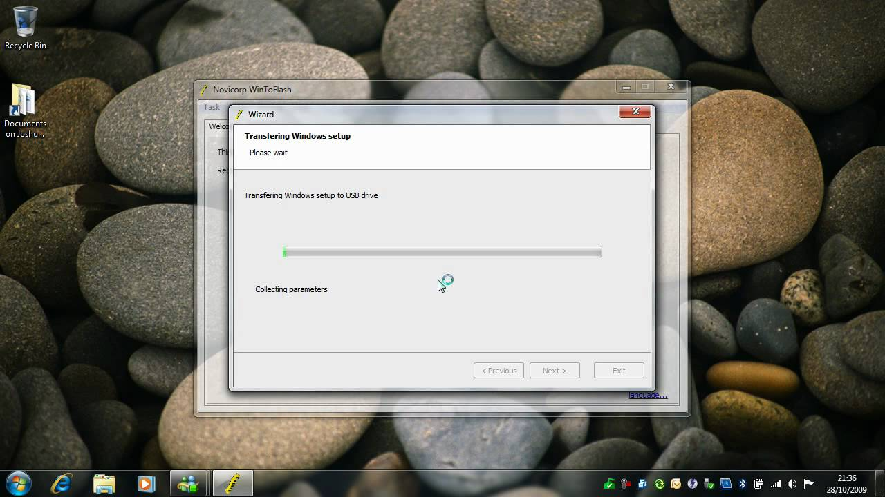 Creating A Bootable USB Pen Drive - Windows 7 RTM - YouTube