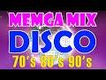 Megamix Disco Songs 70s 80s 90s Legends - Golden Disco Dance Songs 70s 80s 90s Medley- Eurodisco Mix
