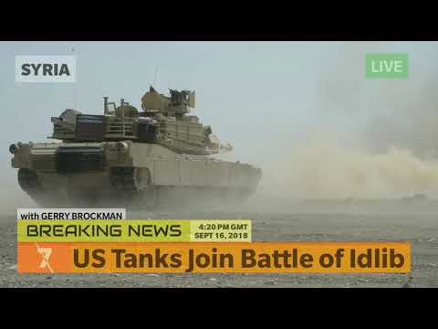 US Tanks Join the Battle of Idlib - SYRIA BREAKING NEWS