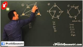 Açı Sorularında Pratik Çözümler (9'un Sırrı) - Önder Hoca ile Pratik Geometri