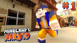 Oops Club Minecraft Naruto #1 | Học Viện Ninja (minecraft role play)