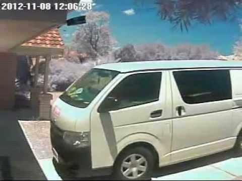 Stolen Postal Item 08.11.2012 No Smashed by postal worker Australia Post