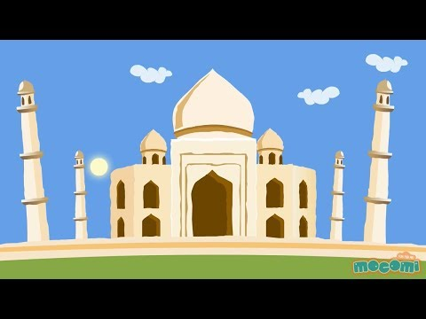 Taj Mahal - Fun Fact Series EP06 | Mocomi Kids