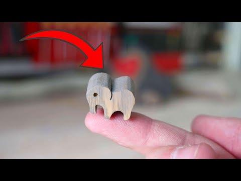 Ist das wirklich der kleinste Holz Elefant der Welt ?