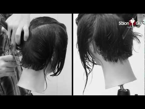 Women's Short Haircut Makeover Tutorial