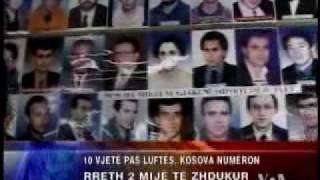 Fati i te zhdukurve ne Kosove