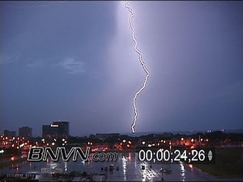 7/24/2003 Lightning footage at dawn