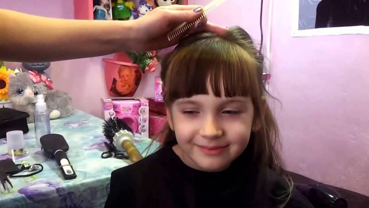 Как подстричь чёлку в домашних условиях ребёнку
