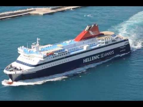 Αφιξη Nissos Mykonos 03/07/2015 στο λιμανι Καρλοβασου