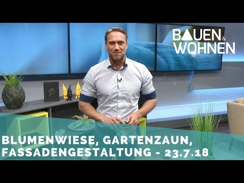 Wohnen auf Militärgelände, Fassadengestaltung, Immobilienbewertung - Sendung am 23.7.2018