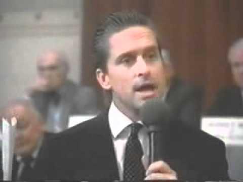 Wall Street   Michael Douglas Greed Speech