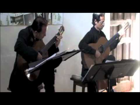 Odeum Guitar Duo - 2-27-11 - John Dowland - My Lord Willoughby is Welcome Home