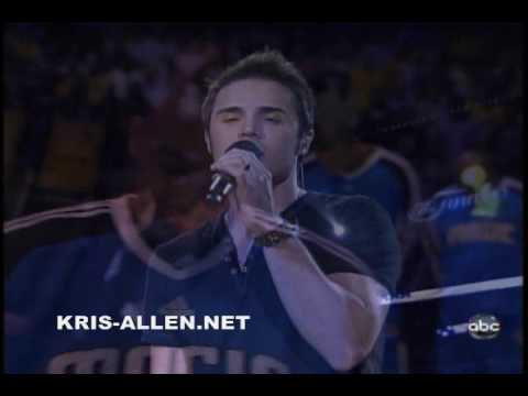 Kris Allen Sings National Anthem - NBA Finals, Game 2 Music Videos