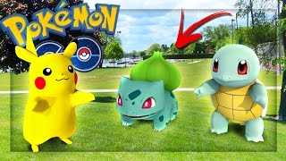 POKEMON IN REAL LIFE! | POKEMON GO