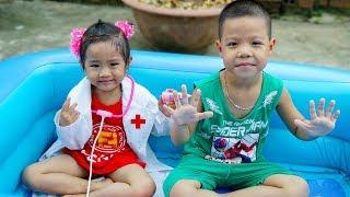 Trò Chơi Cậu Bé Tốt Bụng Và Cô Bác Sĩ Tài Giỏi - Bé Nhím TV - Đồ Chơi Trẻ Em Thiếu Nhi