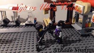 Lego Ninjago Nya vs Ultra Violet