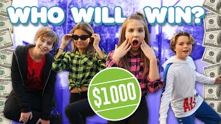 Last To Fall WINS $1000 CHALLENGE **STANDING ON ONE LEG** 💵💕| Piper Rockelle