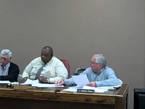 Apalachicola Special Commission Meeting to Discuss RESTORE and Gulf Consortium 2-28-13