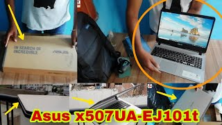 #gaminglaptop #bestgamingleptop # Asus x507uf gaming laptop   Asus x507uf laptop unboxing in hindi