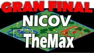 🔴SOÑADA FINAL! NICOV vs THEMAX - IMPERDIBLE ECL 1V1