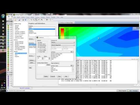 Flow over a wedge - Ansys Fluent 14 tutorial