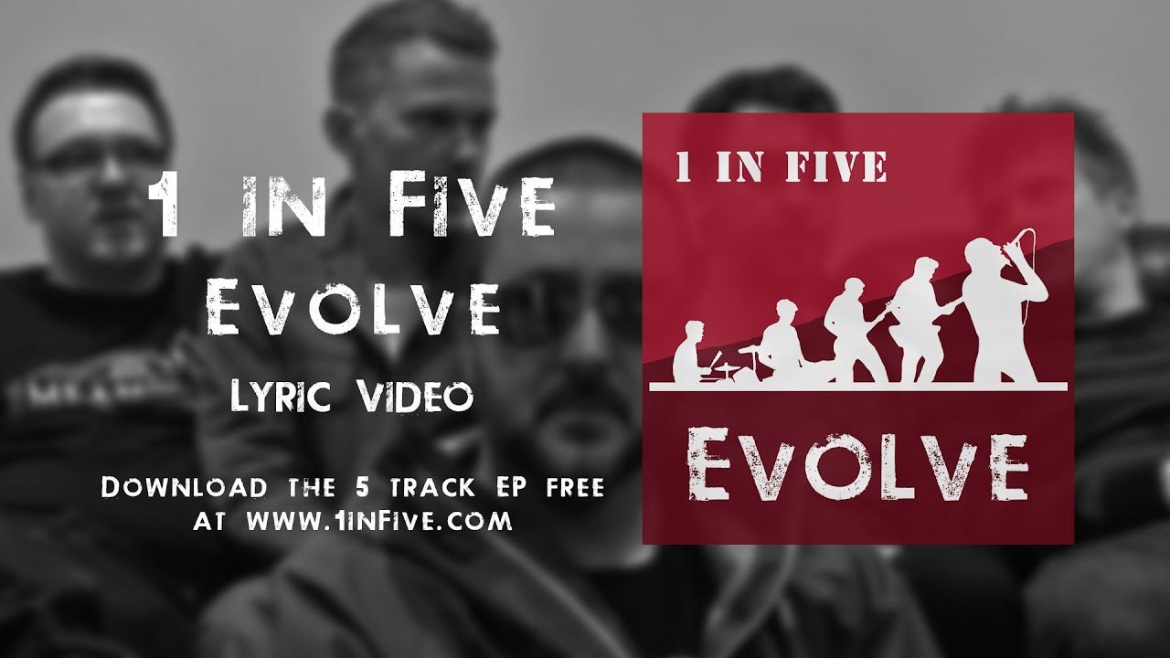 Evolve (Lyric Video) | Hard Rock Blues | 1 in Five