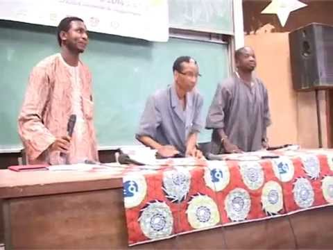 Conférence Débat à l'université de Ouagadougou,Département des Mathématiques 1ere Partie