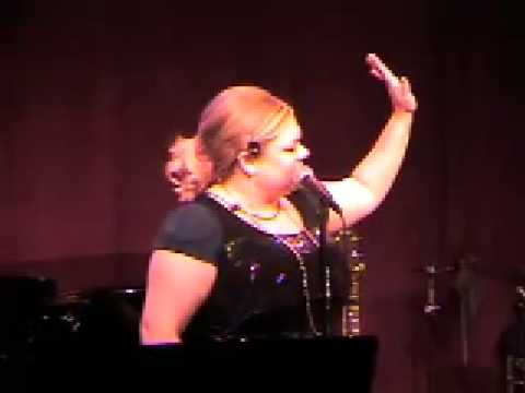 Carly Jibson sings Im Not Pregnant at Katie Thompson Concert