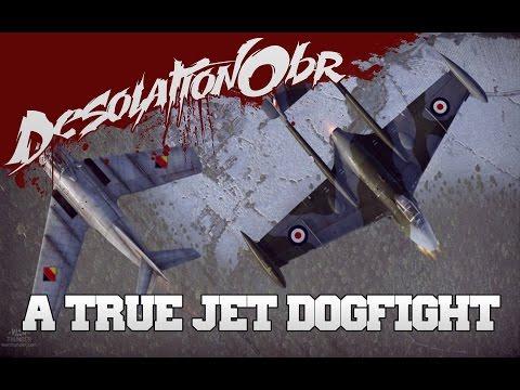 War Thunder - A True Jet Dogfight !!! - Mig15bis vs Venom FB.4