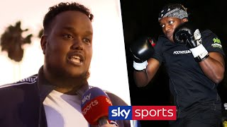 Chunkz reveals what he saw in KSI's sparring sessions 👀 | KSI vs Logan Paul