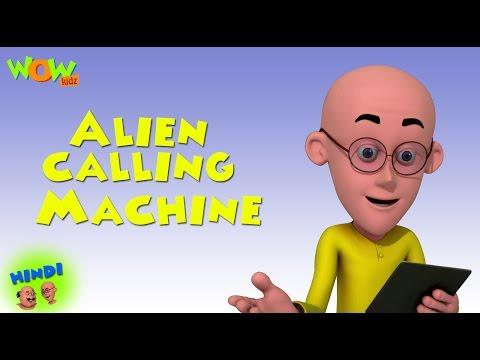Alien Calling Machine - Motu Patlu in Hindi WITH ENGLISH, SPANISH & FRENCH SUBTITLES thumbnail