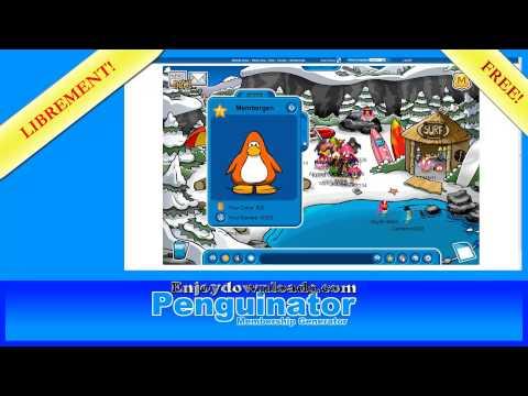 [✓Free✓]Club Penguin Membership 2013-Penguinator v.1.0.3[✓100% Travailler + Virus Scan✓]