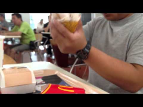 Seasoning McDonald's Fries in Hong Kong