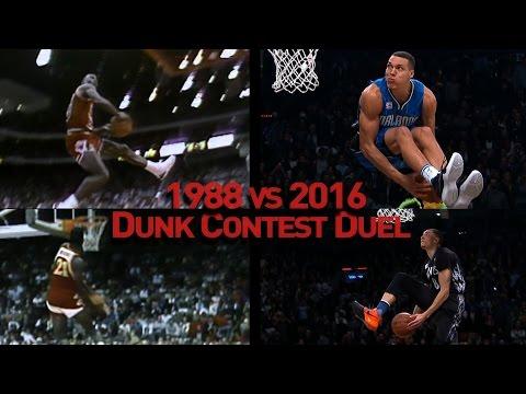 NBA Slam Dunk Contest Duel: 1988 vs 2016