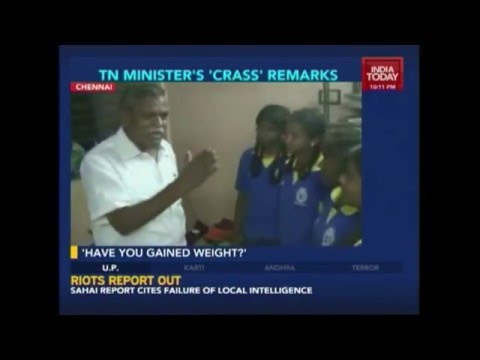 Tamil Nadu Sports Minister's Unsporty Remarks