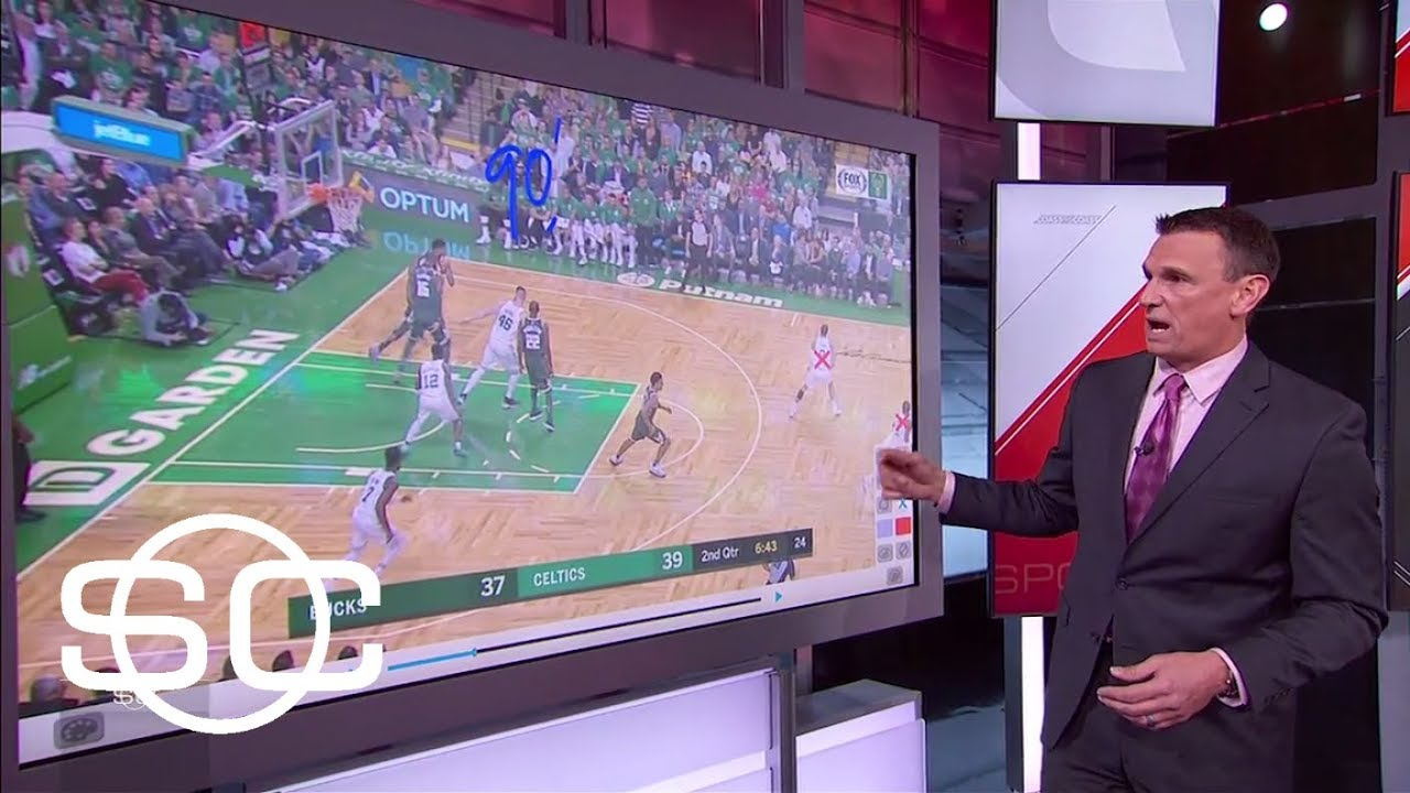 SportsCenter shows why Giannis Antetokounmpo is so hard to stop | SportsCenter | ESPN