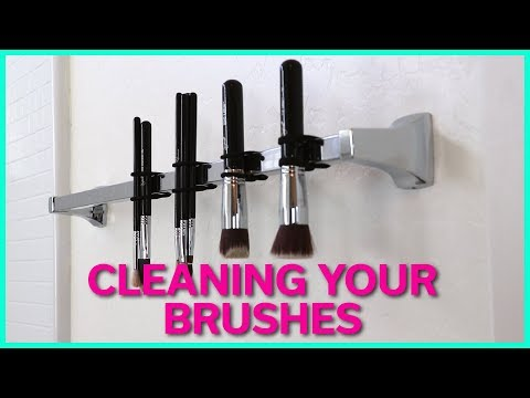 HOW TO CLEAN YOUR MAKEUP BRUSHES | KEB