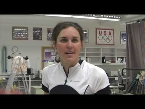 2012 Olympian Gwen Jorgensen Visits the Olympic Training Center