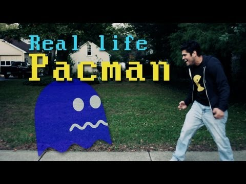 Real Life PAC-MAN