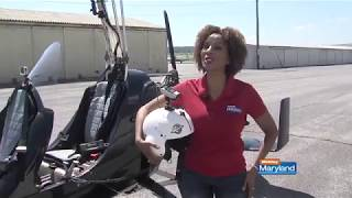 GyroMojo:  That time I was on Television flying a Gyroplane with my friend Elsa