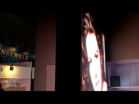 ISE 2015: Chainzone Technology Shows Off Imposa Loiter LED Display