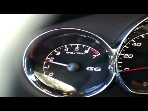 2010 Pontiac G6 Gt 3.5L V6 Start Up & Rev 30K