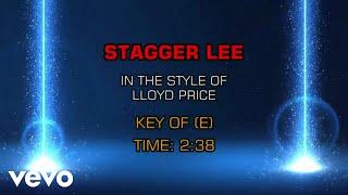 Lloyd Price Stagger Lee Karaoke